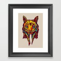 BE RARE* - Iberic Lince Framed Art Print