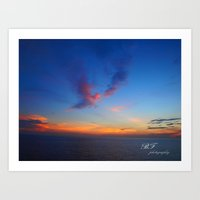 Angel of the Morning Art Print
