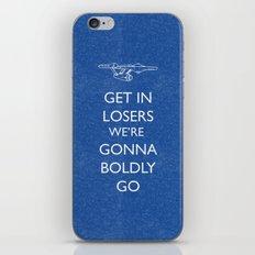 Boldly go iPhone & iPod Skin
