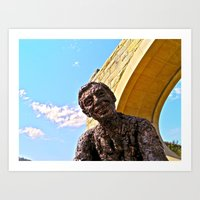 A Beautiful Day In The N… Art Print