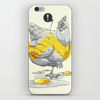 Chicken In The Kitchen iPhone & iPod Skin