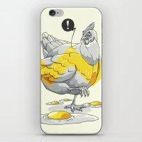 Chicken in the kitchen iPhone & iPod Skin