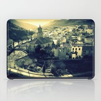 Panorama Of Arnedillo iPad Case