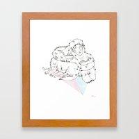 Furry Friends Framed Art Print