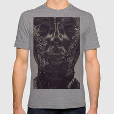 Thom Yorke Mens Fitted Tee Athletic Grey SMALL