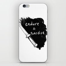 Endure and Survive iPhone & iPod Skin