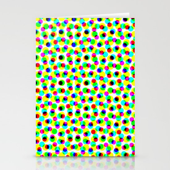 COLORFUL DOT Stationery Card