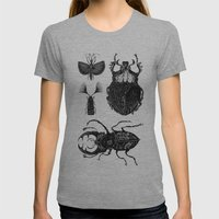 Insects Womens Fitted Tee Athletic Grey SMALL
