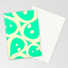 Mint Cream Jelly  Stationery Cards