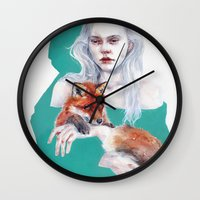 Gently Together Wall Clock