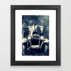 OLDTIMER - CROSS/PROCESS Framed Art Print