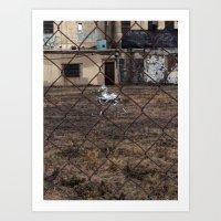 The Silver Hobby Horse 5 Art Print