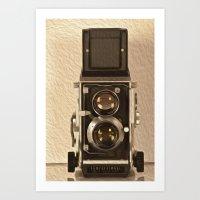 Twin Lens Reflex Art Print