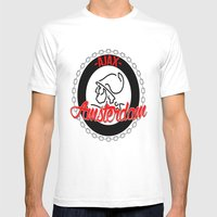 Ajax Hooligan Crest Mens Fitted Tee White SMALL
