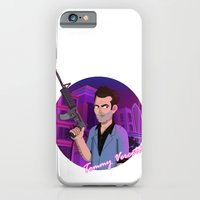 iPhone & iPod Case featuring Vice City: Tommy Vercetti by Aaron Lecours
