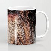 tyrannosaurus rex dinosaur art Mug