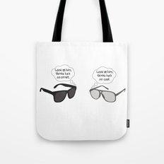 Visual Perspective Tote Bag