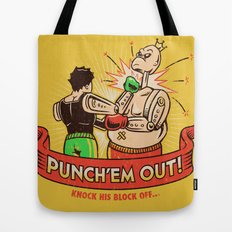 Punch'em Out Tote Bag