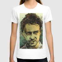 monster T-shirts featuring Schizo - Edward Norton by Fresh Doodle - JP Valderrama