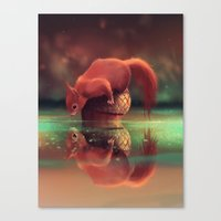 What do you wanna ?  Canvas Print