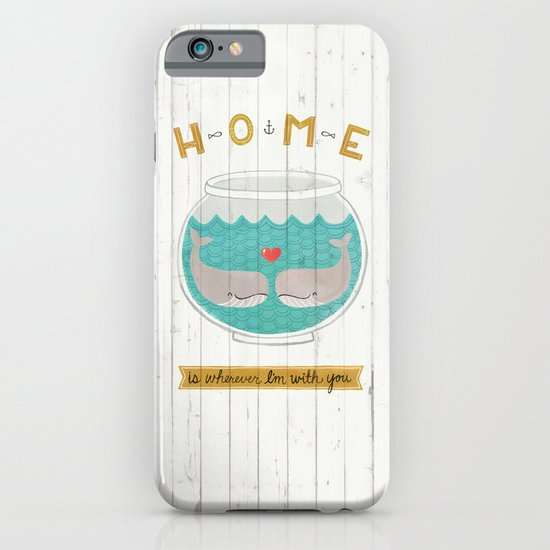 Whales iPhone & iPod Case
