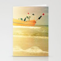 Sea Side Stationery Cards