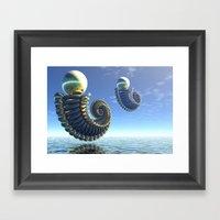 Pearl Keepers Framed Art Print