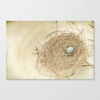 Petit Nest Canvas Print