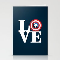 Captain's Love Stationery Cards