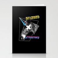 Diamond Unicorn Stationery Cards