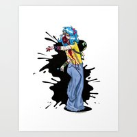 Kandi Kid Want Brains... 'n' Kandi... 'n' Bass... Art Print