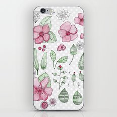 Watercolor Flower iPhone & iPod Skin