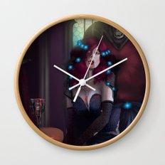 Vampire Lady Wall Clock