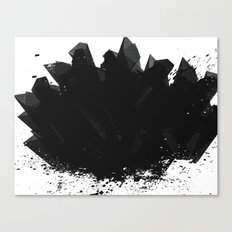 Black Diamond Canvas Print