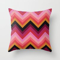 ZigZag #2 Throw Pillow
