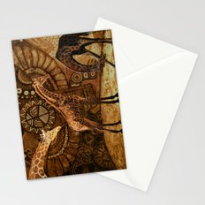 Three Giraffes Stationery Cards