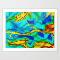 The Branch Bold Abstract Art Print