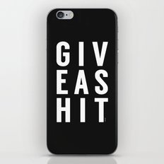 It's that simple iPhone & iPod Skin