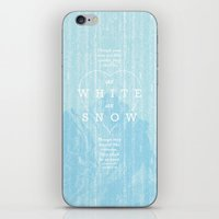 as white as snow iPhone & iPod Skin
