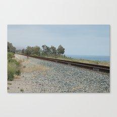 Tracks Canvas Print