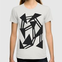 Race Womens Fitted Tee Silver SMALL