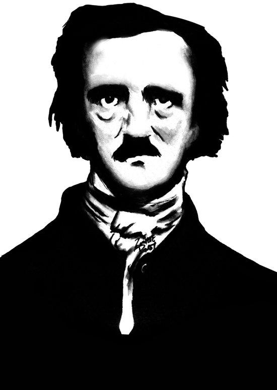 Poe Canvas Print