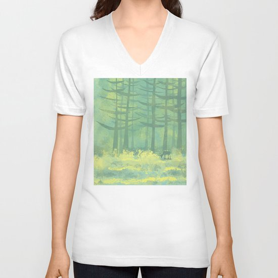 The Clearing V-neck T-shirt
