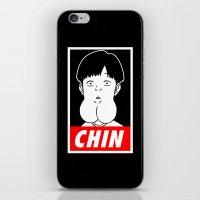 Chin Boy iPhone & iPod Skin