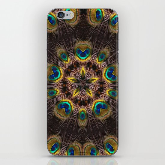 The Eye of the Peacock iPhone & iPod Skin