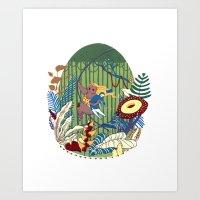 Tarzana and John Art Print