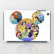 Princess Mickey Ears iPad Case