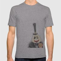 Nightmare Before Christm… Mens Fitted Tee Athletic Grey SMALL