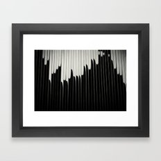 STEEL & MILK II. Framed Art Print