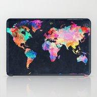 iPad Case featuring World Map by Bekim ART